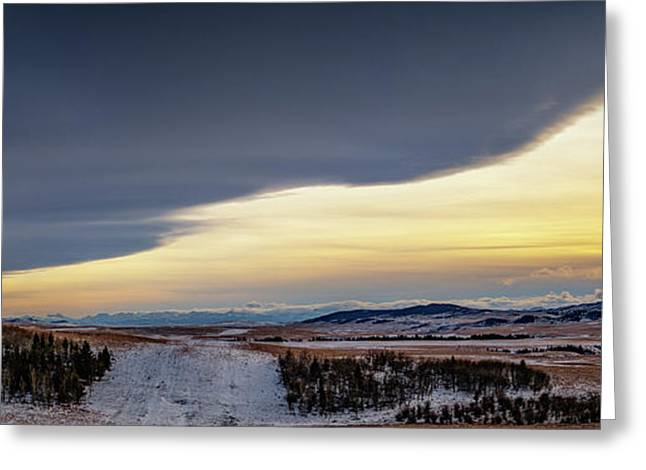 Greeting Card featuring the photograph Chinook Arch by Brad Allen Fine Art