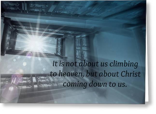 Christ Alone Greeting Card