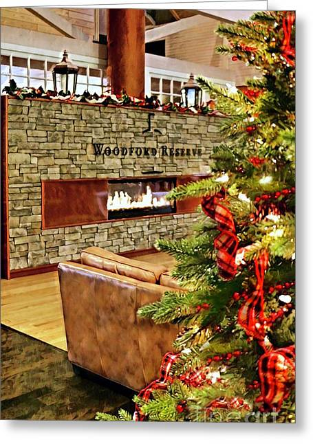 Christmas At Woodford Reserve Greeting Card