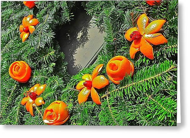 Christmas Citrus Greeting Card