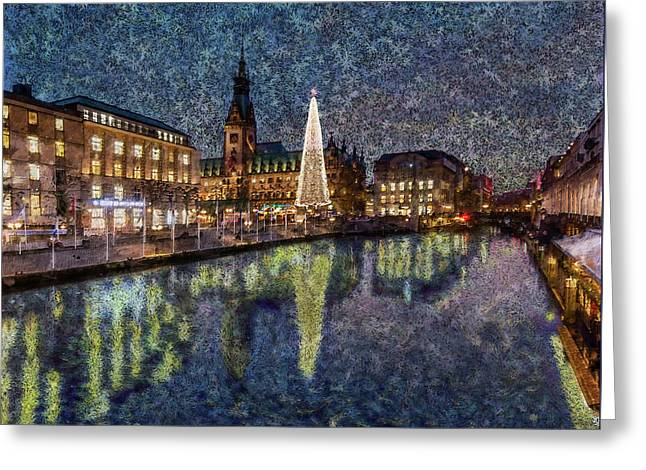 Christmas Hamburg Greeting Card