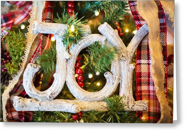 Greeting Card featuring the photograph Christmas Joy by Top Wallpapers