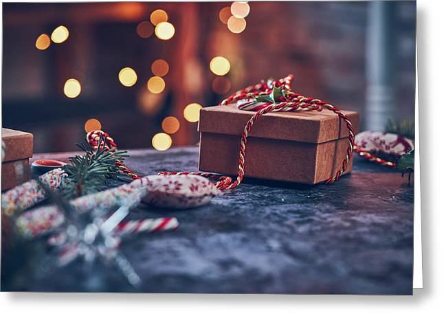 Christmas Pesent Greeting Card