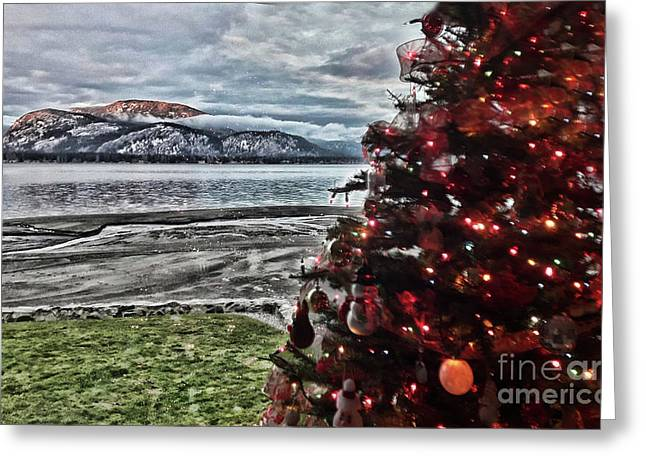 Christmas View Greeting Card