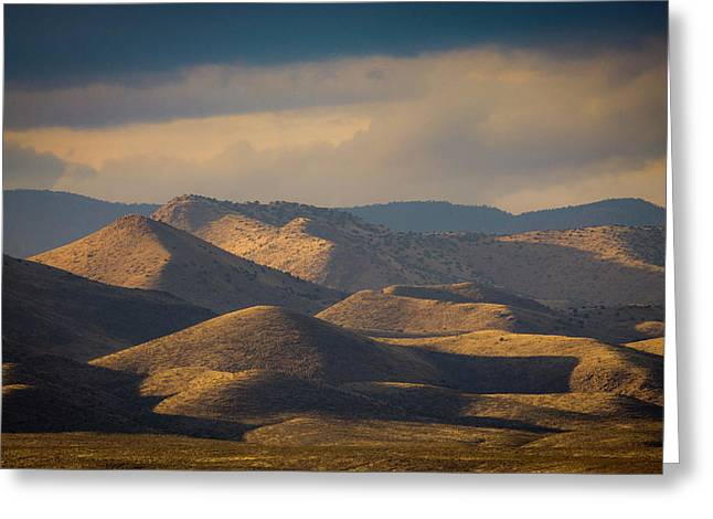 Chupadera Mountains II Greeting Card