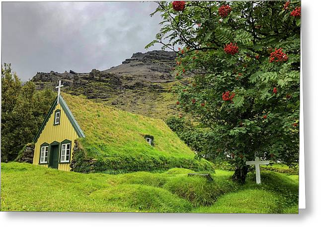 Church Of The Holy Moss Greeting Card