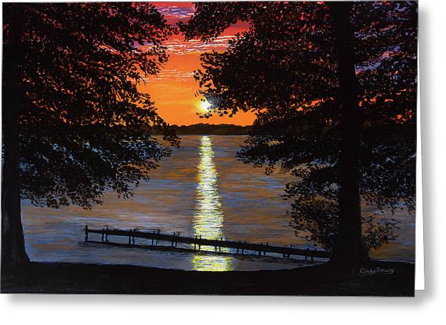Cindy Beuoy - Lake Maxinkuckee Greeting Card