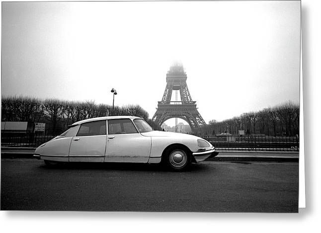 Greeting Card featuring the photograph Citroen by Jim Mathis