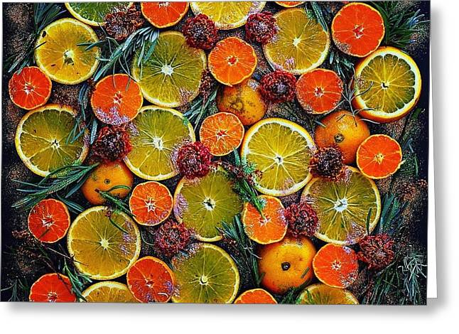 Citrus Time Greeting Card