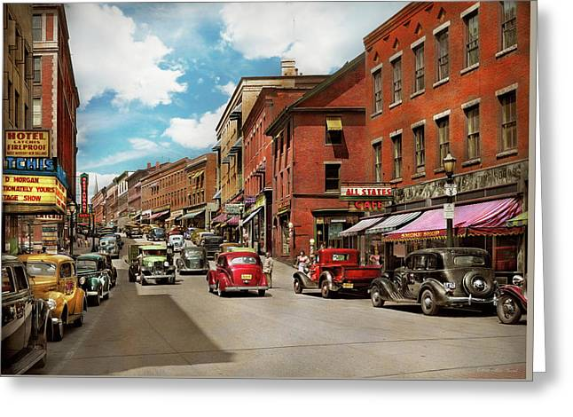 Brattleboro Vt Greeting Cards Fine Art America