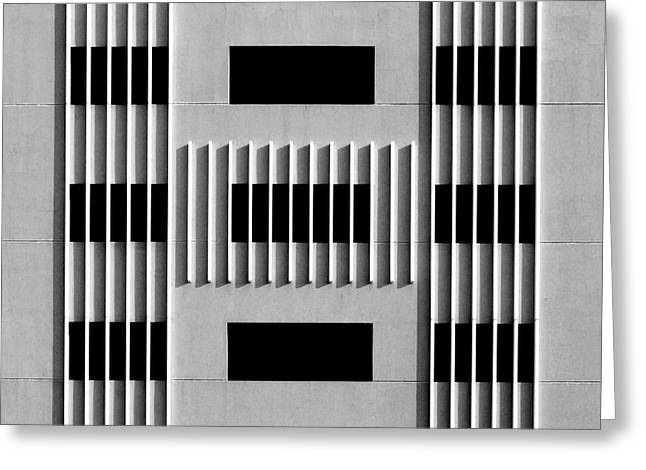 City Grids 64 Greeting Card