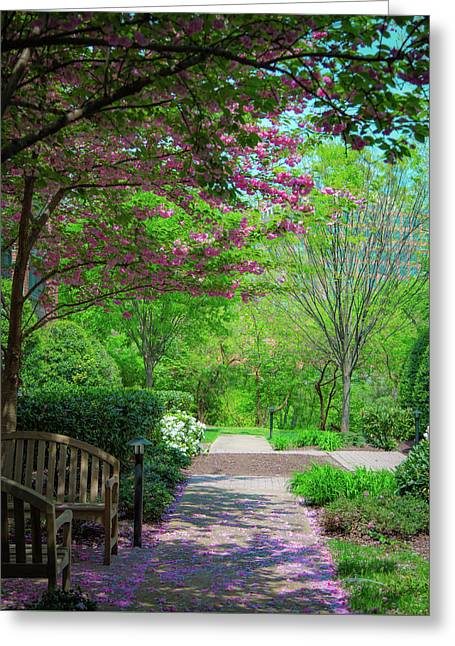 City Oasis Greeting Card