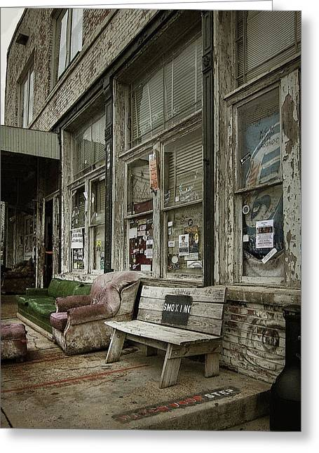 Greeting Card featuring the photograph Clarksdale by Jim Mathis