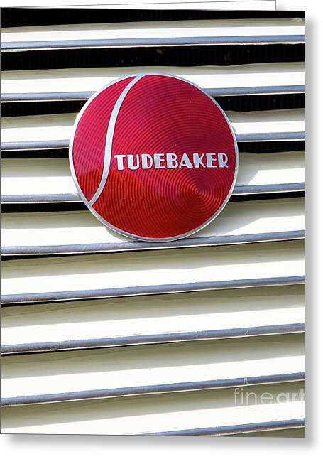 Classic Studebaker Logo Greeting Card