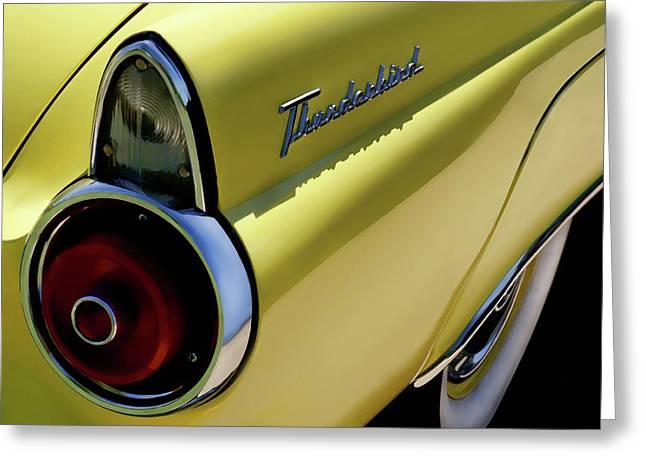 1955 Thunderbird Greeting Card