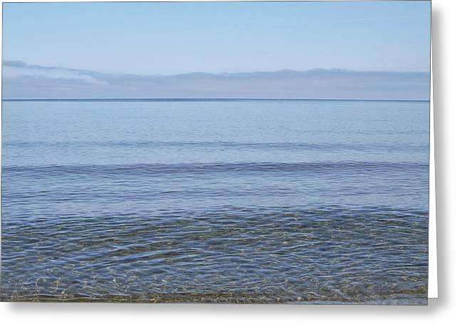 Clear Lake Superior Greeting Card