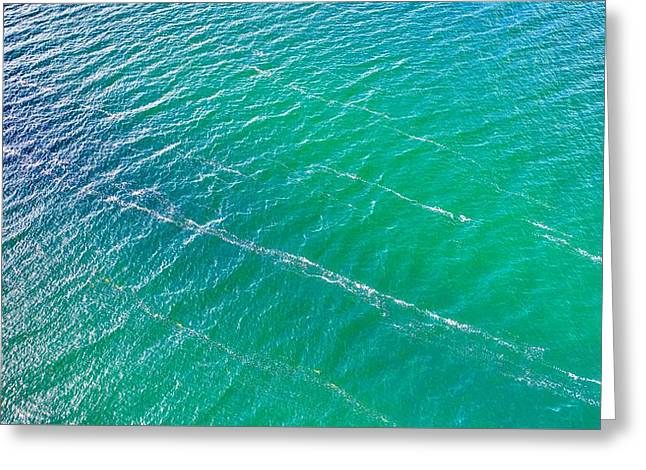 Clear Water Imagery  Greeting Card