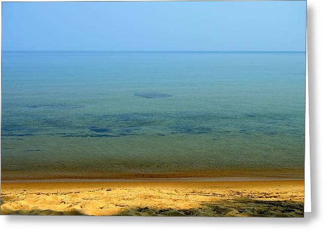 Clearness Of Lake Superior Greeting Card