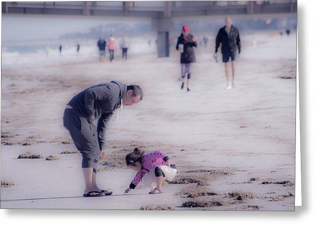 Clearwater Beachcombing Greeting Card