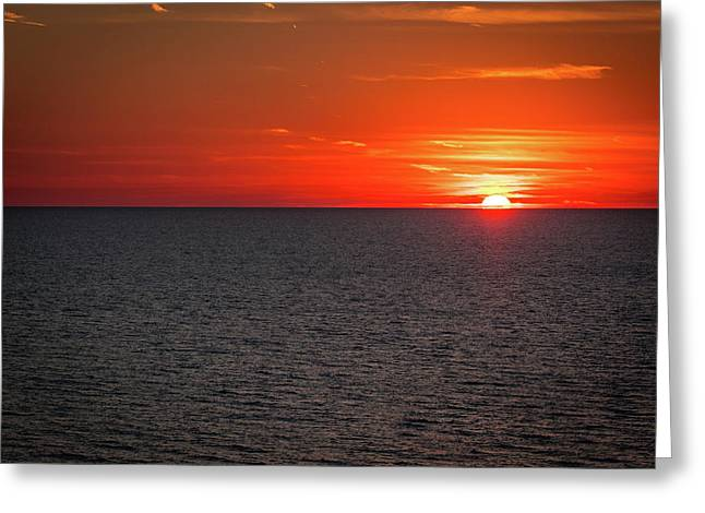 Clearwater Sunset Greeting Card
