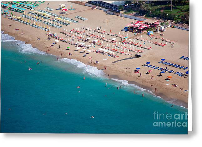 Cleopatra Beach, Alanya Turkey Greeting Card