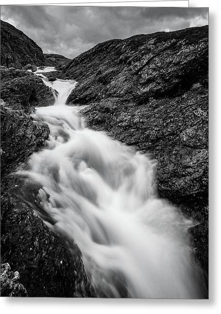 close to Ygnisdalselvi, Norway Greeting Card