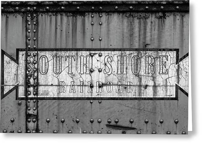 Close-up Of Freight Railroad Car, South Greeting Card