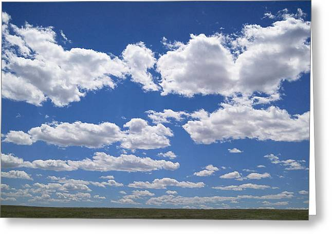 Clouds, Part 1 Greeting Card
