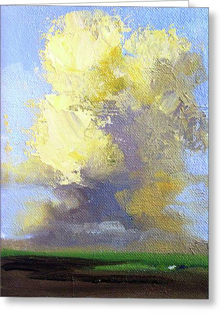 Cloudy Day Greeting Card