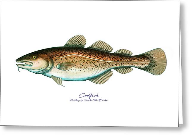 Codfish Greeting Card