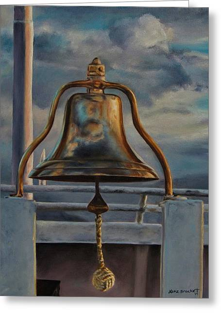 Coho Ferry's Bell Greeting Card