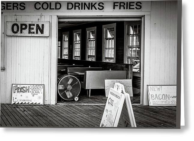 Greeting Card featuring the photograph Cold Drinks by Steve Stanger