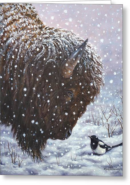 Cold Weather Cohorts Greeting Card