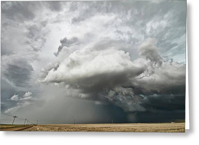 Colorado Sky Greeting Card