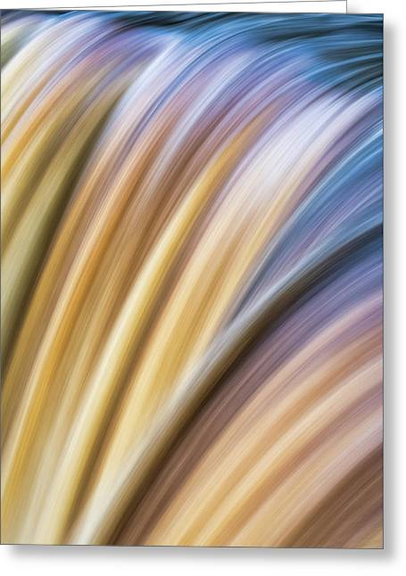 Colorful Flow Greeting Card