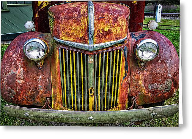 Colorful Ford Greeting Card