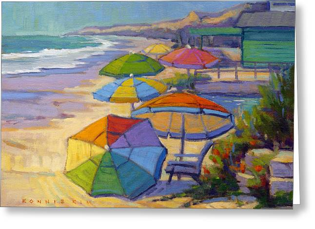 Colors Of Crystal Cove Greeting Card