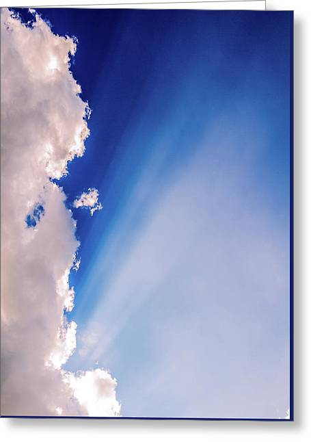 Colours.blue Greeting Card