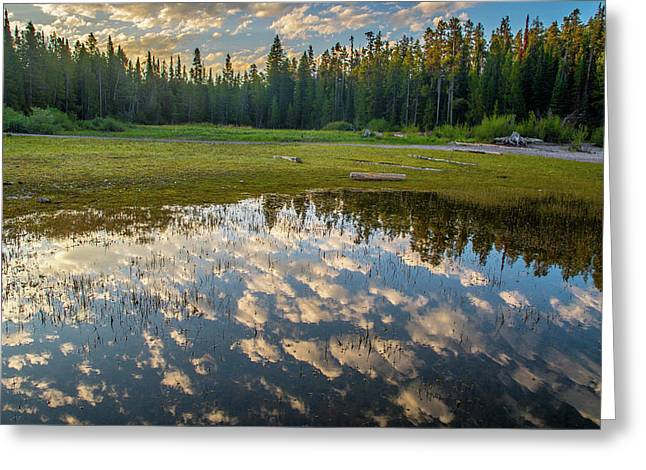 Colter Bay Reflections Greeting Card