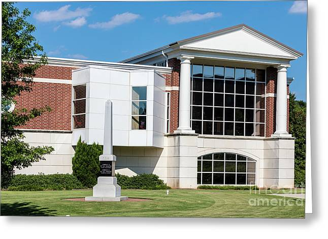 Columbia County Main Library - Evans Ga Greeting Card