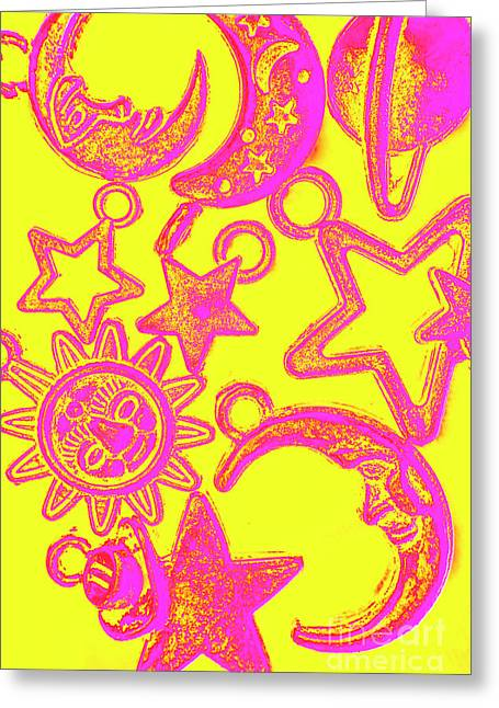 Comic Constellation Greeting Card