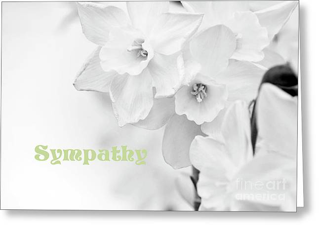 Condolences With Sympathy Greeting Card
