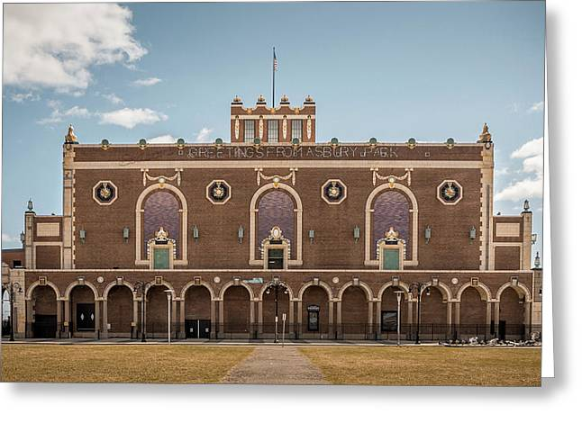 Convention Hall Greeting Card