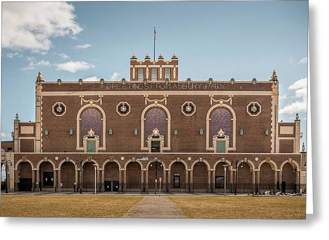 Greeting Card featuring the photograph Convention Hall by Steve Stanger
