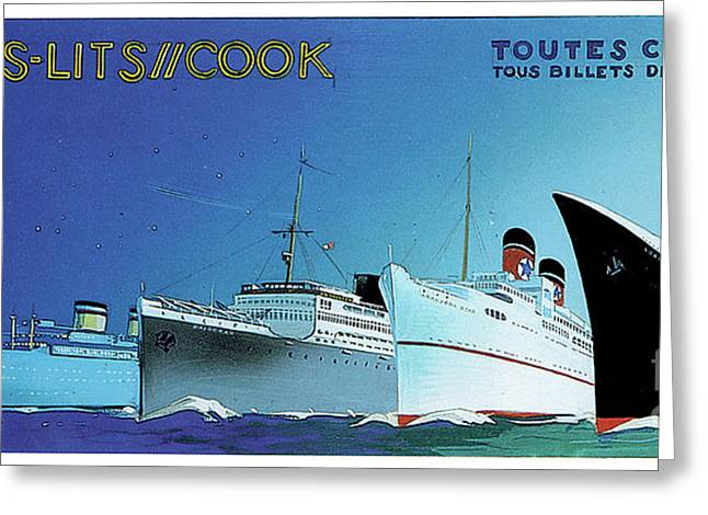 Cook Cruises  Greeting Card