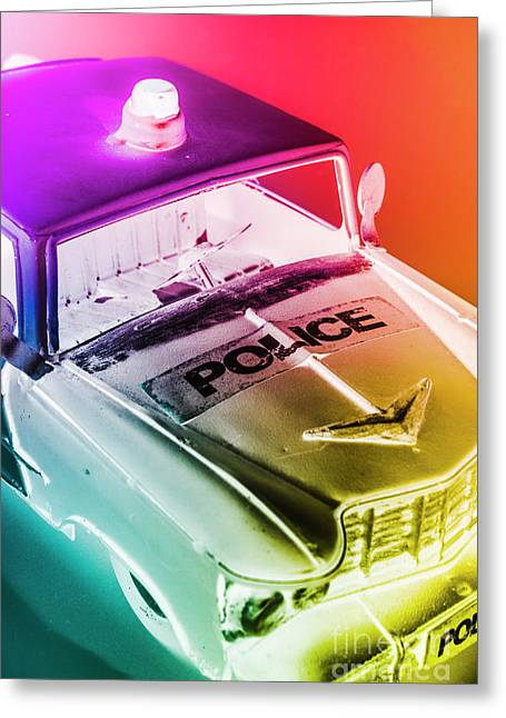 Cop Pops Greeting Card