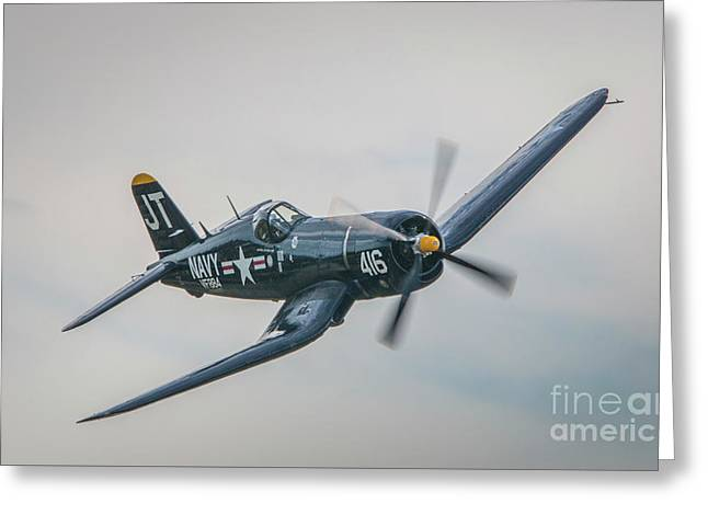 Corsair Approach Greeting Card