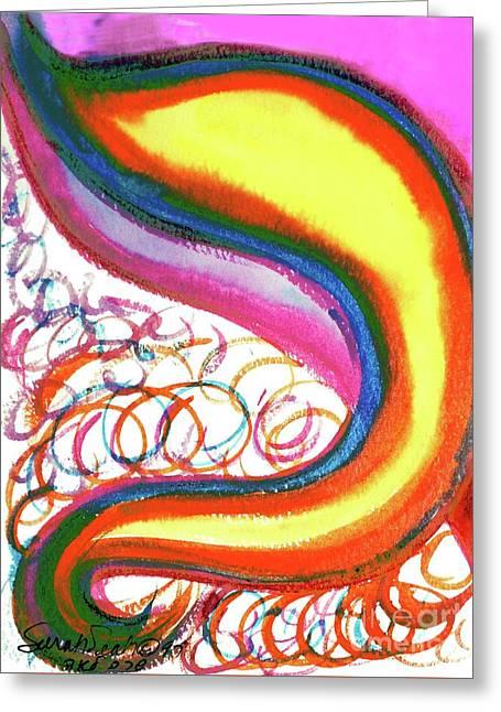 Cosmic Caf Ca4 Greeting Card