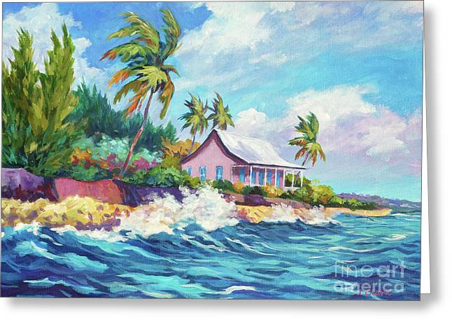 Cottage At Prospect Reef Greeting Card
