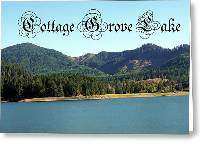 Greeting Card featuring the photograph Cottage Grove Lake by Ben Upham III
